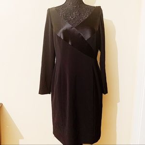 Tahari • Long Sleeve Black Dress (14)